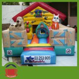 Hot Sale Jumping Inflatable Castle with Slide