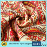 Printed Spun Rayon Viscose Fabric Women Summer Dresses Fabric