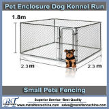 10′ X 10′ X 6′ DIY Box Kennel Chain Link Dog Kennel