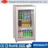 70L CE/SAA/RoHS/SAA Glass Door Mini Refrigerator