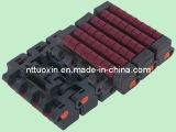 Lbp1005 Roller Top Modular Belt with Double Positrack