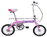 16 Inch Girl Beautiful Folding Bike/Bicycle for Sale