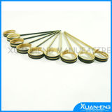 25PCS Magma Products Flat Natural Bamboo Kabob Skewers