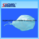 High Quality Blue Color Surgical Cap with Ties