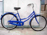 Blue Lady Bicycle with Front and Rear CP Carrier (SH-CB042)