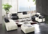Home/Hotel Living Room Modern Corner Leather Sofa (8005#)