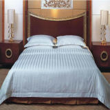 Pure White Stripe Bedding Set for Hotel (DPF1026)