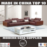 European Style Sectional Sofa with Chaise (Lz967)