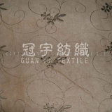 Suede Embroidery For Sofa Fabric (GYXH-001)