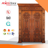 Timber Exterior Door/Wood Villa Luxury Door with Top Quality
