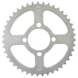 Motorcycle Sprocket/White Zinc/Shinning