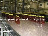 Tabletop Chain Filled Bottles Conveyor System