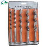 5PCS Hex Shank Wood Auger Drill Bits Set (JL-WADBS5)