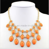 Wholesale 2014 Europe and American Fashion Necklace, Resin Necklace