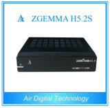 Twin Satellite Tuners Receiver H. 265 Hevc Support Zgemma H5.2s with E2 OS