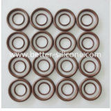 China Custom Molded Silicone Rubber Gasket