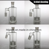 in Stock Wholesale Tobacco Ash Catcher Matrix Perc Glass Ashcatcher Hookah Somking Accessorries