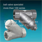 Y Type Stainless Steel Threaded End Strainer 800wog