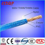 600V Thhn Wire, Nylon Jacket Copper Electric Wire Thwn-2 Mtw