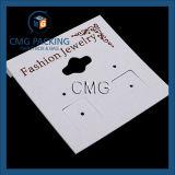 Personalized Fashion Custom PVC Earring Card