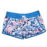 Customized Girl′s Casual Summer Printed Leisure Swim Shorts