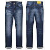 Customize Basic Five Pocket Brand Deinm Jeans for Men