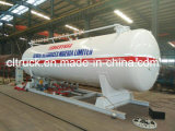 Factory 12.5 Tons 25 Cbm ASME Standard LPG Retail Skids Station for LPG Gas