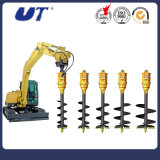 Excavator Hydraulic Auger Earth Drill