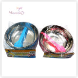15*15*6cm Baby Kids PP Stainelss Steel Bowl Set