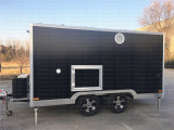2015 Hot Sales Best Quality Crepe Trailer Motorcycle Food Trailer Hand Push Trailer