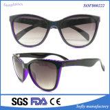 UV 400 Protection Bicolor Big Frame Polarized Sunglasses for Women