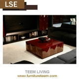 2015 New Design Real Sample Pictures Wooden Furniture Coffee Table