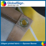Shanghai Globalsign 220g Knitted Fabric Backdrop Banner for Tradeshow