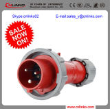 Marine Reefer Container Connector/IEC60309 Connector with 2p+E 16/32A 400V