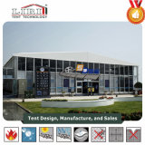 30m Clear Span Thermo Roof Cube Structure with ABS Glass Walls for Outdoor Exhibition