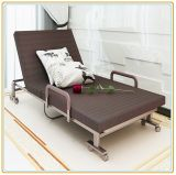 Folding Bed/Rollaway Guest Bed with Steel Frame & Foam Mattress 190*100cm