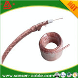ISO9002 Ce RoHS Coaxial Cable CCTV and Alarm 75ohm Coaxial Rg59