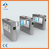 Supermarket Turnstiles Smart Passage Door Waist Height Swing Barrier Infrared Barrier
