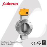 Electric Ventilation Flange Butterfly Valve