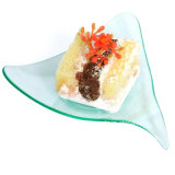 PP/PS Plastic Disk Disposable Saucer Stingray Tasting Plate
