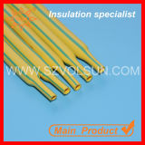 Manufacturing 3: 1dual Color Yellow Green Heat Shrinkable Tube (DBRS-125G (2X) (3X) YG)