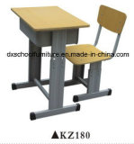 Popular Adjustable School Furniture Study Desk and Chair Set
