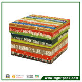 Popular Fashion Colorful Paper Chocolate Gift Box for Packaging
