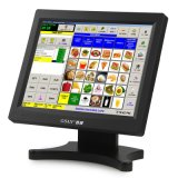 Gsan Black Touch Screen POS Terminal