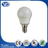 E14 Plastic aluminium Covered LED Bulb 3W