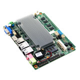 Intel Atom Fan Motherboard L2 Cache Embedded Motherboard with USB