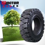 China High Quality Natural Rubber Industrial Solid Tires 9.00-20