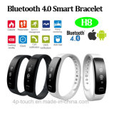 IP56 Wateproof Bluetooth Smart Bracelet with Pedometer Function (H8)