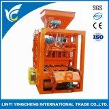 Qt4-24b Semi Automatic Concrete Burning-Free Hollow Block Molding Machine Price