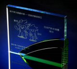 Green Crystal Trophyengraving Character